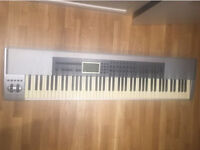 Midi keyboard, M AUDIO, full size, INCLUDES stand.