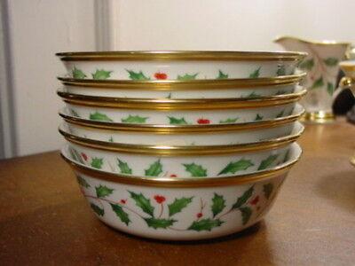 Lenox Holiday All Purpose Bowl - Lenox HOLIDAY Gold All - Purpose Bowls Set of 2 - NEW!