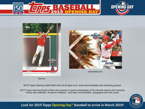 2019 Topps Opening Day Baseball Available @ Breakaway