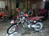 STOLEN 2009 CRF250R WITH DUAL EXHAUST