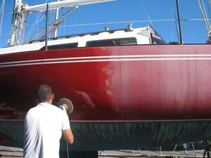 Offering Boat Waxing and Bottom Painting Services