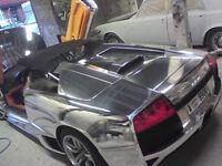 SUPERCAR & PRESTIGE CAR CUSTOMIZATION VINYL WRAPPING CAR WRAP WINDOW TINTING ALLOY WHEEL REFURB