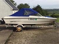 Bayliner 175 speedboat