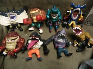 WANTED Street Sharks 90's Toys/Figures OPEN TO TRADES