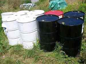45 gallon steel barrels many uses