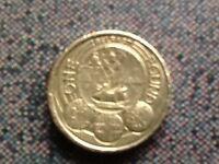 £1 coin 2010 Belfast city.