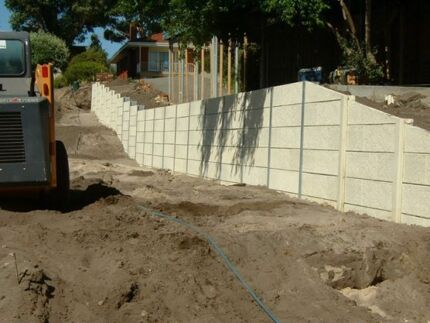RETAINING WALL MATERIAL SUPPLIERS DIY FACTORY DIRECT Landsdale Wanneroo Area Preview