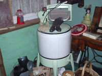 antique newfoundland  ringer washer 40's