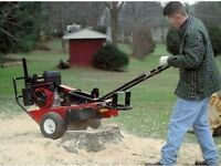 Mighty Mac CPSC82HEX Stump Grinder with Honda OHV