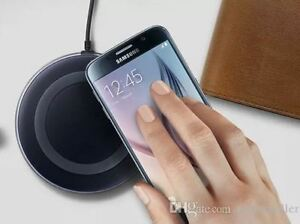 Qi Wireless Charging Pad for iPhones, Samsungs,