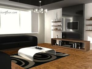 Mute your home with natural cork flooring.