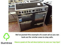 BEKO ELECTRIC RANGE COOKER 100CM -- Read the description before repling to this ad!!