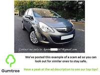 Corsa Opel 2o12 - Read the description before replying to the ad!!