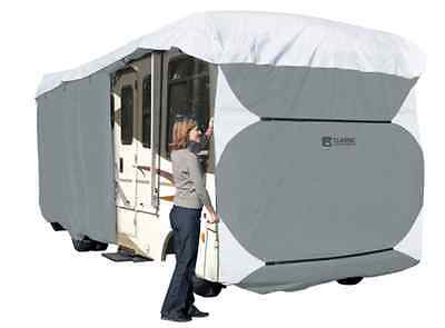 """Deluxe PolyPro III RV Motor Home Cover Fits Class A 28-30 Foot, 130"""" Height"""