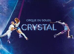 2 Cirque de Soleil CRYSTAL   Producer Seats