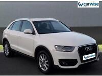 2013 Audi Q3 TDI SE Diesel white Manual