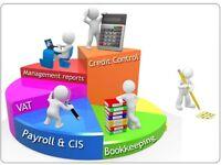 Bookeeping Freelance evenings & weekends