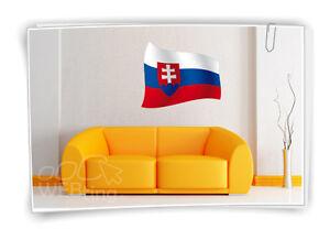 ESLOVAQUIA-BANDERA-Bandera-Futbol-ADHESIVO-deporte-EM-Mundial-Pegatina-tatoo