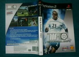 PS2 playstation 2 game cover - This Is Football 2003. GC