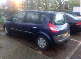 **FAULT** URGENT NEEDS GONE Cluth gone Renault Scenic 5 seater car Petrol