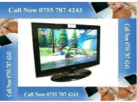 """Samsung 32"""" LCD HD TV with remote control"""