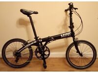 BMW Mini Cooper Folding Bike