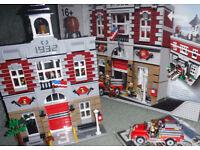 Rare Lego Modular Fire Station set 10197