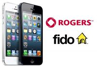 Unlock iPhone 5/5s/6/6plus with Rogers/Fido