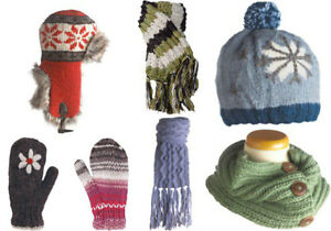 Huge quantity of brand new mitts, hats, scarves etc.
