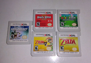 Mario golf  angry bird epic Mickey Zelda et plus