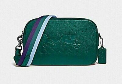 New Authentic Coach F75818 Jes Crossbody Shoulder Bag Purse Handbag Green