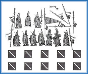 High Elf Lothern Sea Guard x 10 New & Unassembled elves