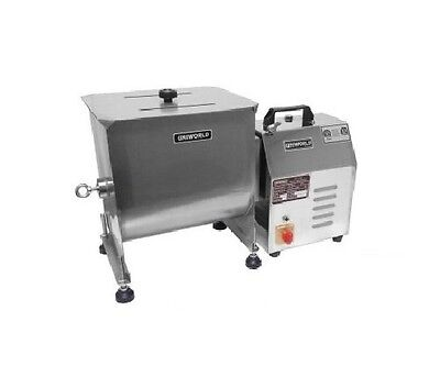 Uniworld Stainless Steel Automatic Meat Mixer With Tc Power Unit. Can Be Used Al