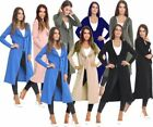 Casual Solid Duster for Women