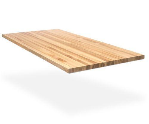 butcher block table top ebay