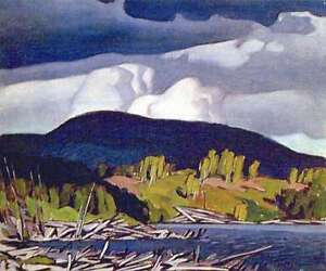"""A.J. Casson """"Pugh Lake"""" Lithograph - Appraised at $700 London Ontario image 1"""