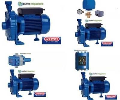 Pompa elettropompa autoclave centrifuga CM 32 HL Speroni Made in Italy
