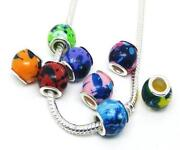 Large Hole Acrylic Beads