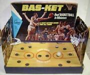 Vintage Basketball Game