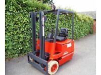 Linde electric counterbalance forklift truck
