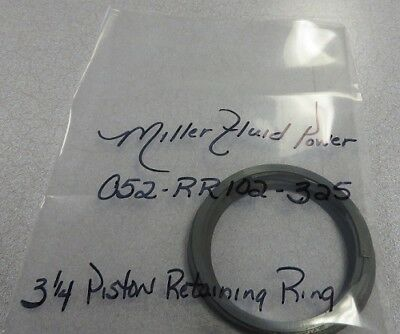 Miller Fluid Power 3 14 Piston Retaining Ring Steel Pn 052-rr102-325