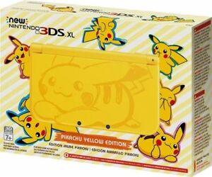 New 3DS XL Yellow Pikachu