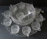 Hobnail Punch Bowl