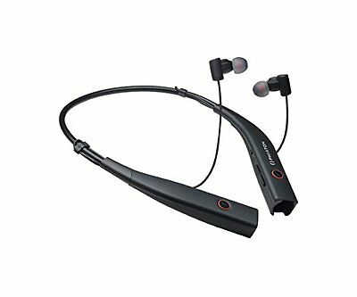 Phiaton BT 100 NC Black Wireless & Active Noise Cancelling Neck Band Style Ea...