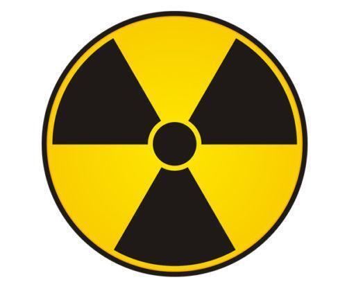 Radioactive Sticker Ebay