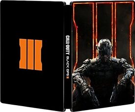 Call of Duty: Black Ops III Game with SteelBook XBOX ONE, BRAND NEW SEALED