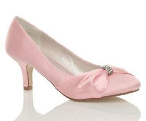 Baby Pink Court Shoes