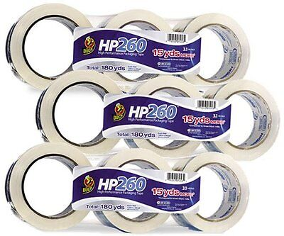 Hp260 Duck Clear Tape High-performance 1.88 X 60 Yards 9 Rolls