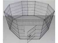 Small Dog, Puppy Pet Rabbit, Guinea Pig - Play Pen or Run 8 Panel