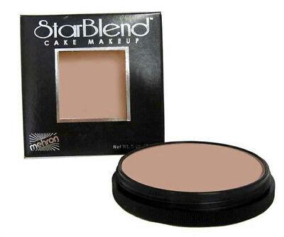 Mehron StarBlend Cake Foundation Professional Makeup Dark Olive 2oz ()